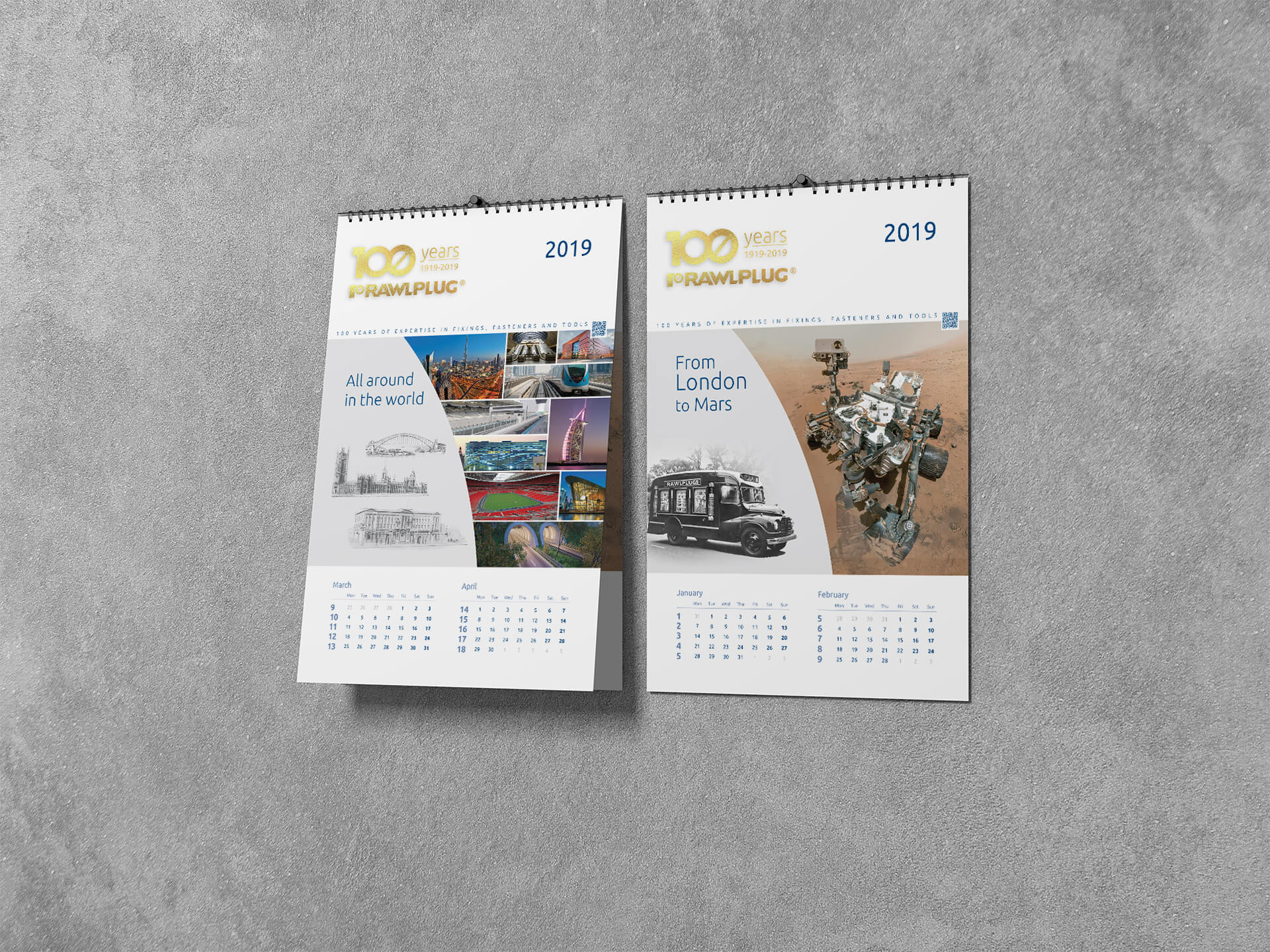 kalendarze drukowane